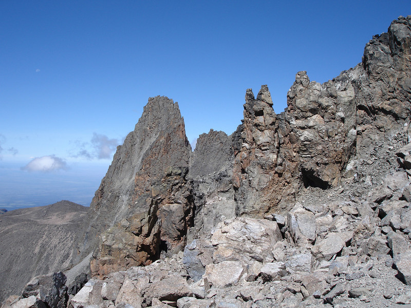 Mount Kenya mountains