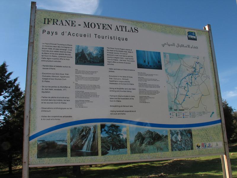 Middle Atlas mountains near Ifrane (Fes - Imouzzer-Kandar - Ifrane - Azrou - Ain-Leuh - El-Hajeb - Boufakrane)