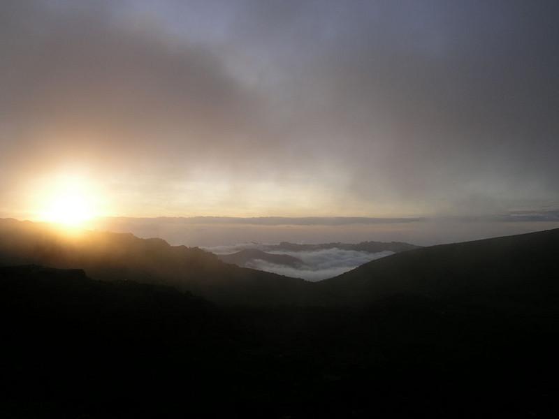 Shira 2 Camp,Shira plateau Kilimanjaro 3891m