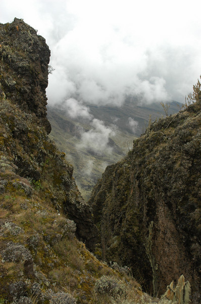 Cathedral Peak 3891m, Shira plateau Kilimanjaro