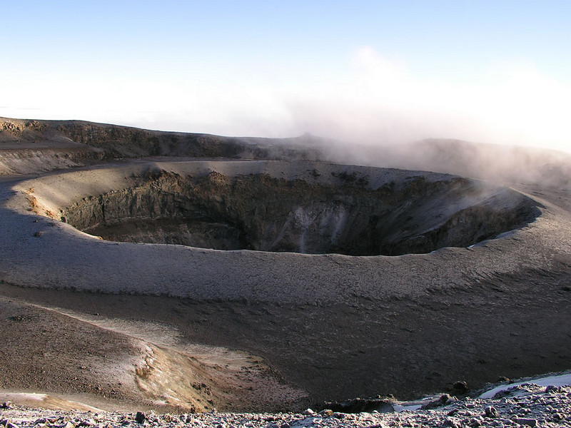 Reush Crater with Ash Pit, Kilimanjaro