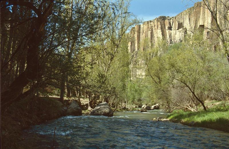 Melendiz river, Ihlara valley, Aksaray-Ihlara-Nevsehir (51-78 and 51-01)