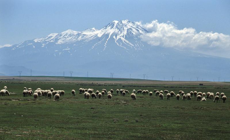 Hasan Dagi 3268m S of Aksaray, Konya-Nevsehir