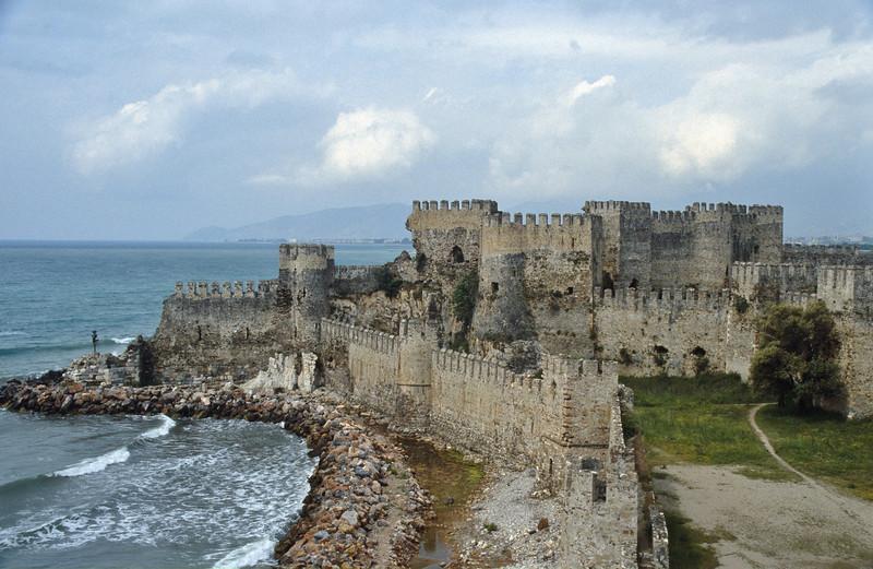 Mamure, a Crusader Castle, near Anamur, South Turkey
