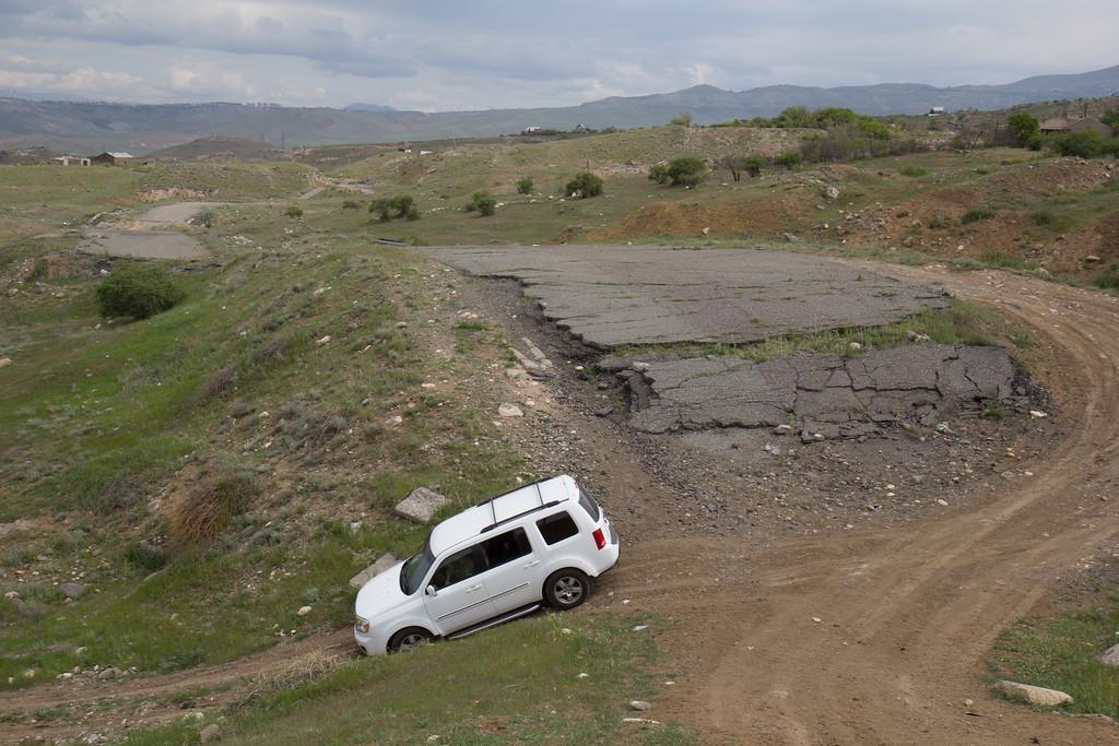 Earthquake zone