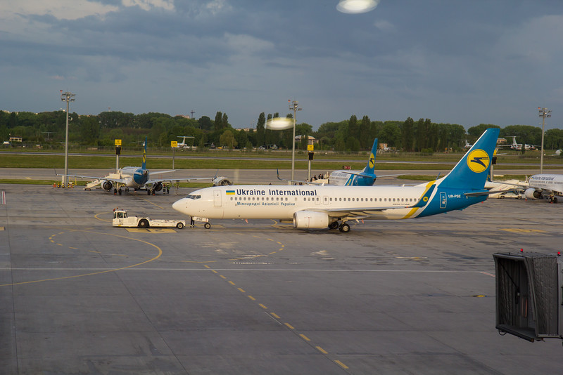 Flight PS0146, Brussel Zaventem - Kiev Flight PS0611- Jerevan Armenia