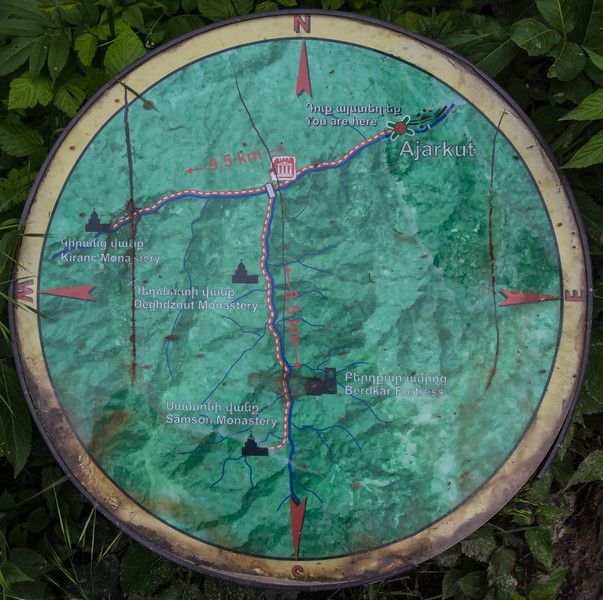 Map, Nature Trail