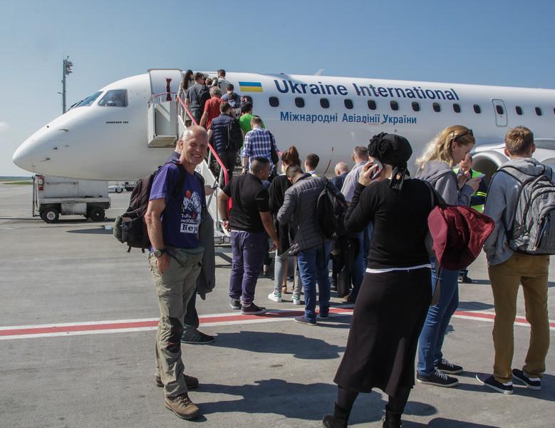 Flight: Jerevan-Kiev, Kiev-Brussel Zaventem