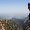 on the highest summit Mnt. Lotus, 1864m, Natonal Park Huangshan, Anhui, East China