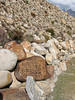 Prayer stones near Kharta Camp 3710m
