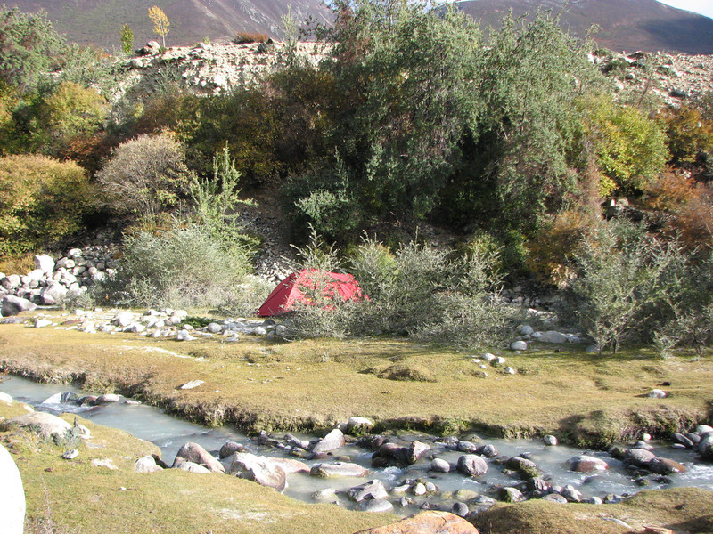 Kharta Camp 3710m