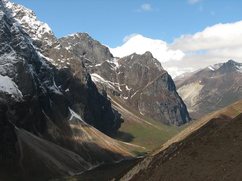 Djaksim Camp 4053m-Bahtang Glacier-Camp 4379m