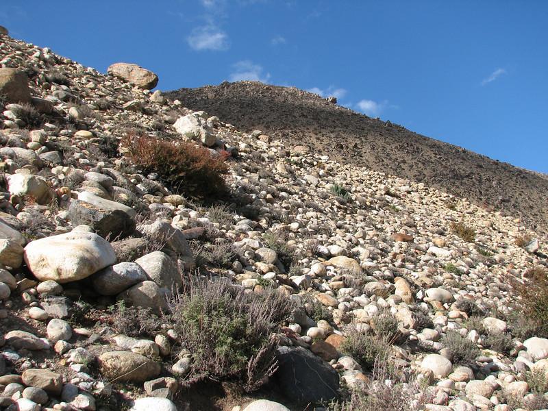 near Kharta Camp 3710m