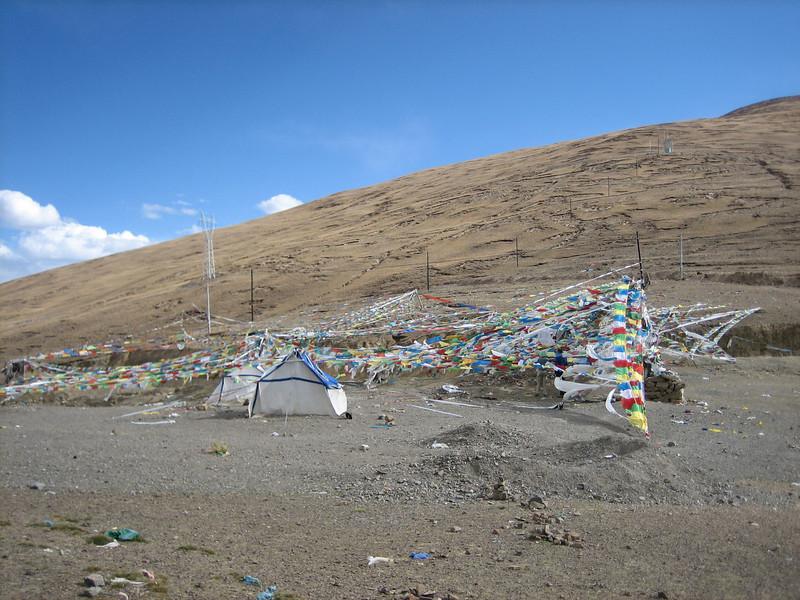 Tibetan plateau, Gyangtse 4032m-Latse 4050m
