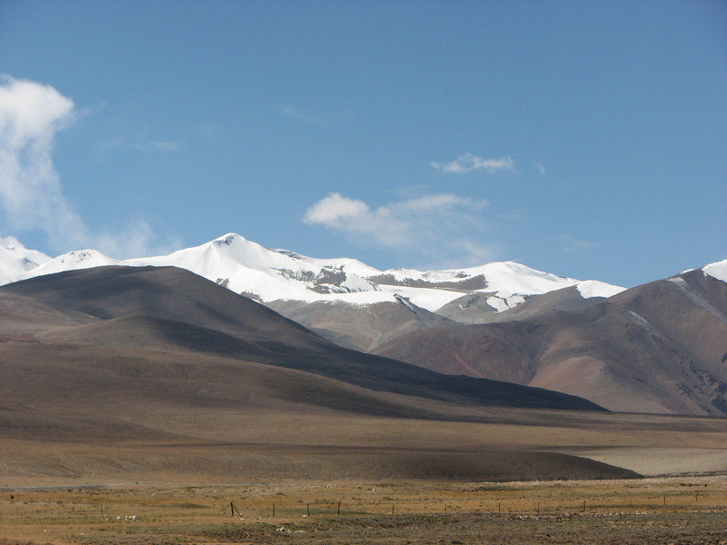 Tibet plateau, Rongbuk-Everest Base Camp 5156m