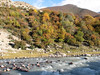 Autumn colours, Kharta river, Kharta Camp 3710m