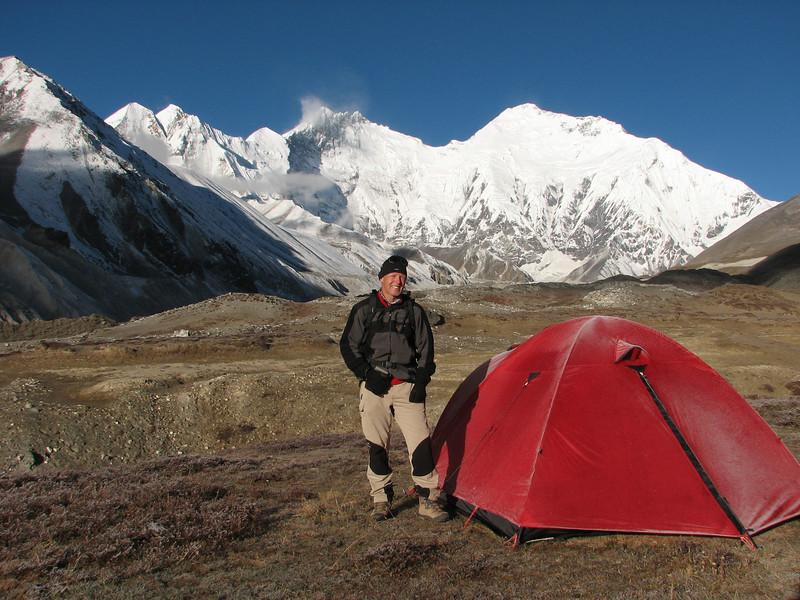 Pethang Ringmo Camp 4941m-Kharta Ridge 5886m v.v.