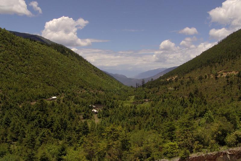landscape near Zhongdian