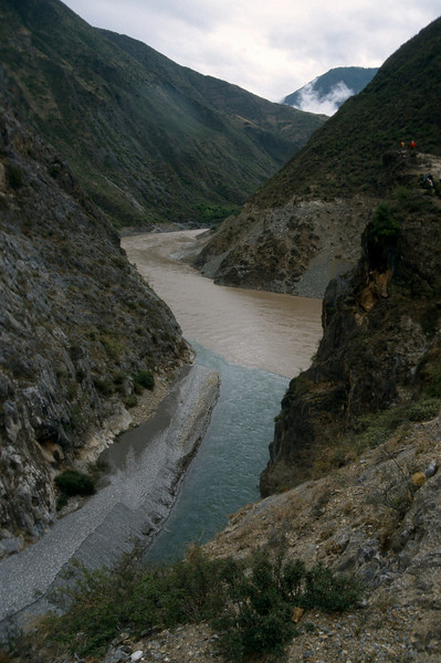Yangtze river junction