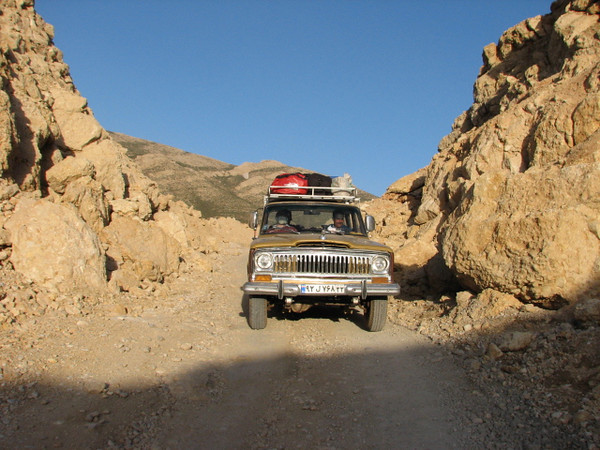 4x4 mountain roads