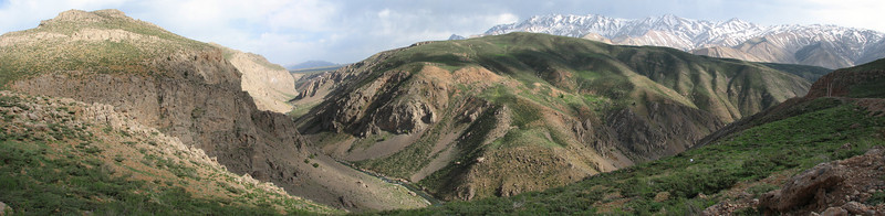 the Zagros mountains