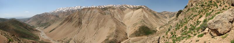 landscape Zagros mountains