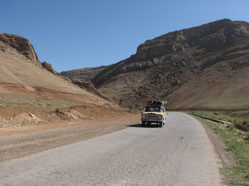 landscape near Semirom