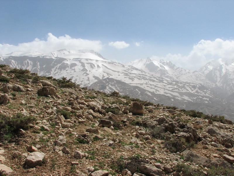 mountainous landscape near Chelgerd