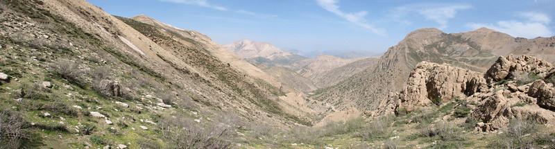 Zagros landscape