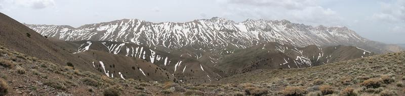 the Elburz Mountains