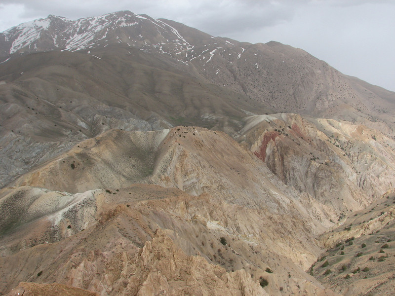 East Elburz mountains, semi desert
