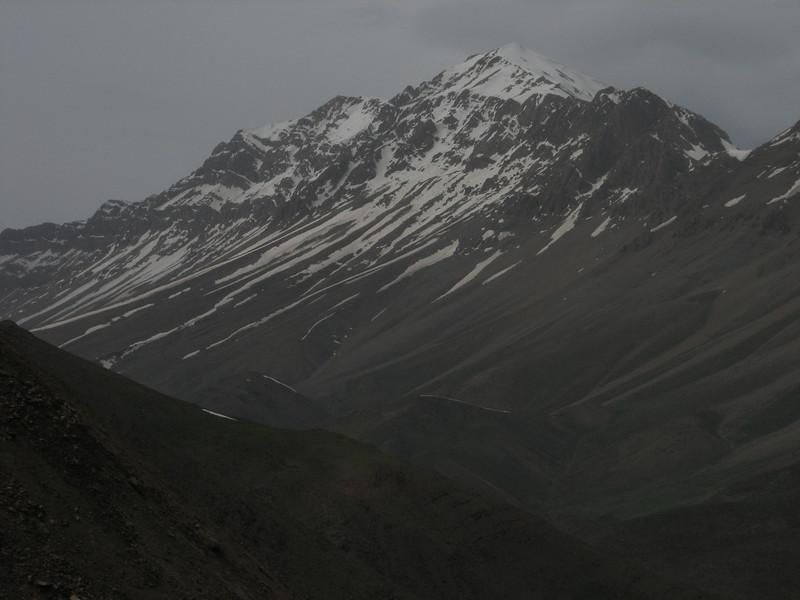 Damavand mountain 5671m.