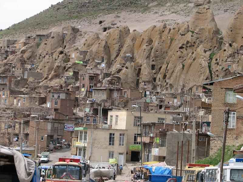 Kandovan a pitoresque mountain village (Iran, Azarbayjan-e-Gharghi, Sahand mountains)