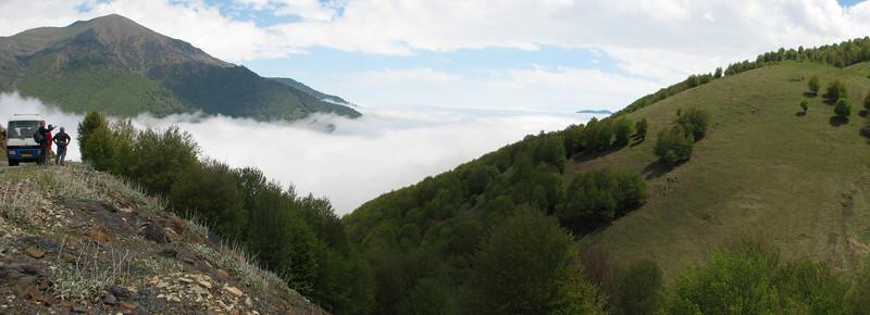 humit clouds from the Caspian Sea, Iran, Gilan, Elburz mountains, SE of Masuleh (5)