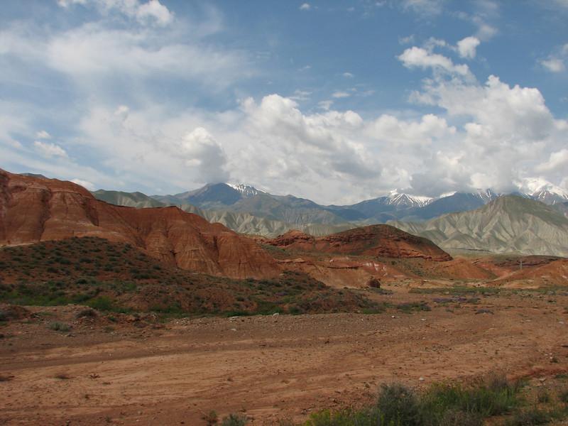 landscape near the Iran-Armenia border (Iran, Azarbayjan-e-Gharqi, mountains 15 km S of Siyah Rud, 1400m (18)