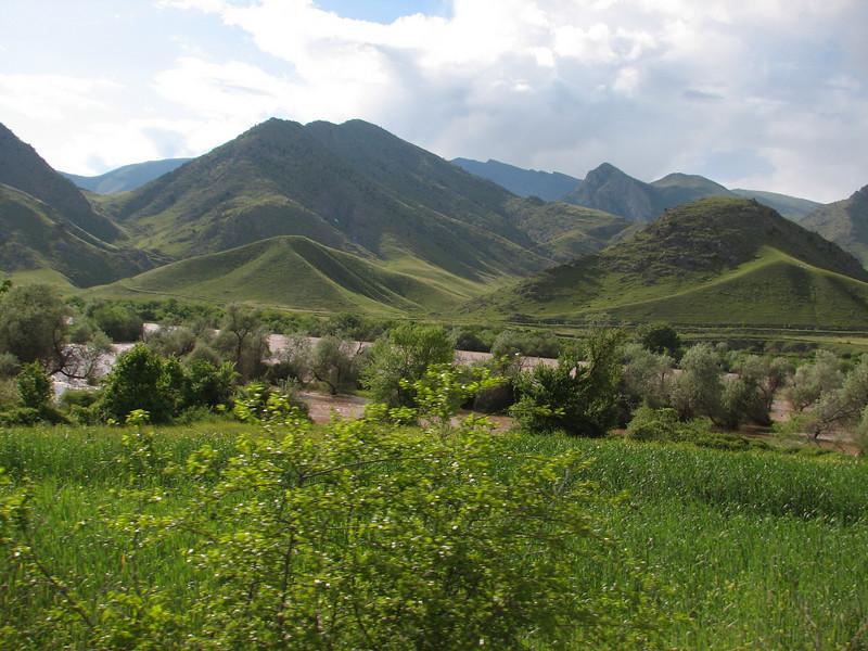 near the border Iran-Armenia
