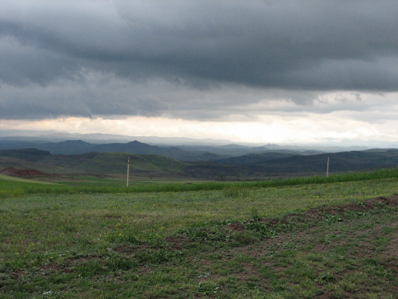 (Iran, Ardabil, Kuh-e-Sabalan mountains S of Lahrud