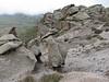 vulcanic rocks (Iran, Ardabil, Kuh-e-Sabalan mountains S of Lahrud, 2600m vulcanic (10)