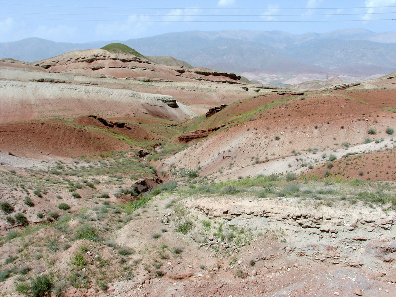 beautiful landscape of the Sendan mountains (Iran, Qazvin, near Gilavan, W of Sefid Rud Reservoir (40)