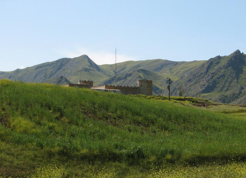 near the border Iran-Azarbayjan