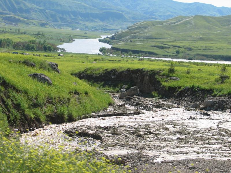 river Rud-e-Aras, near the border Iran-Azarbayjan