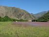 Iranian village and the river Rud-e-Aras, (Iran, Azarbayjan-e-Gharqi, mountains NE of Mardanqayem, border Iran-Armenia (16)
