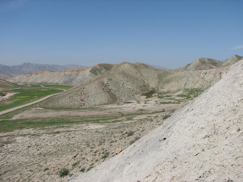 semi desert landscape