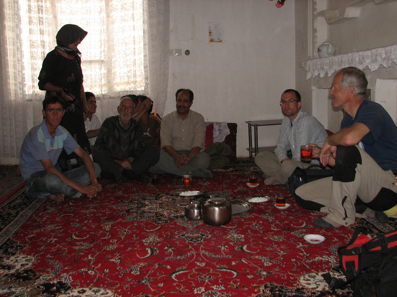 hospitable Armenian family in Iran