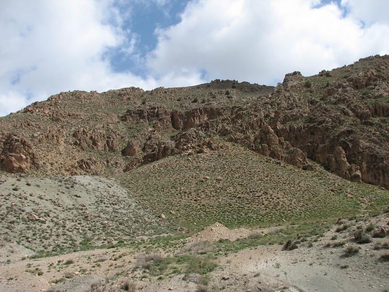 landscape (7 km S of Bajgiran, 2000m, Razawi Khorasam Province, Kopet Dag)