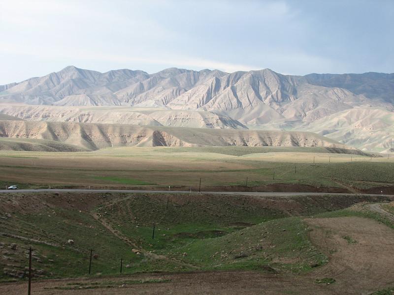 meadows in the Kuh e Aladag mountains