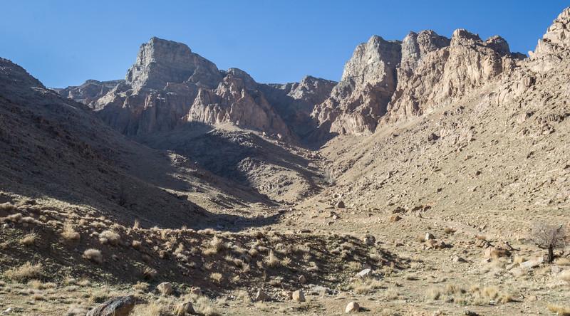 Shir kuh mountains