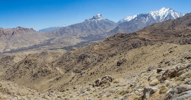 Schir Kuh mountains