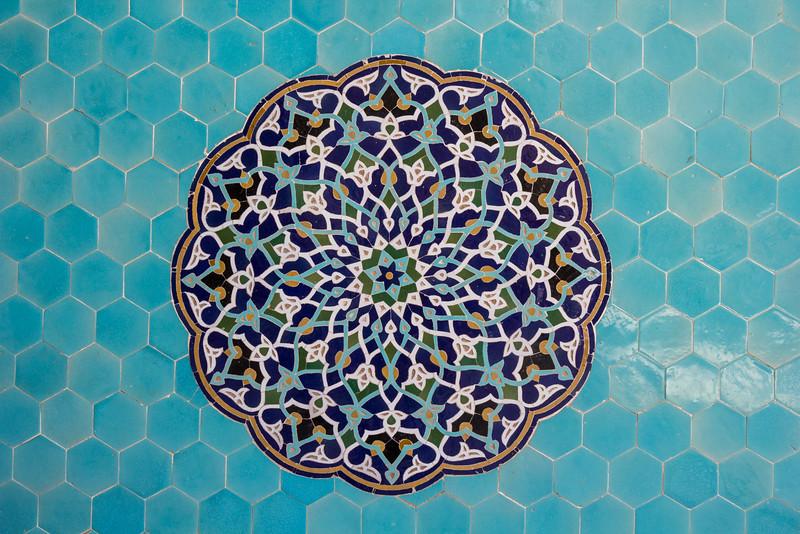Tiled mosaik, Masjid-I Jami Mosque