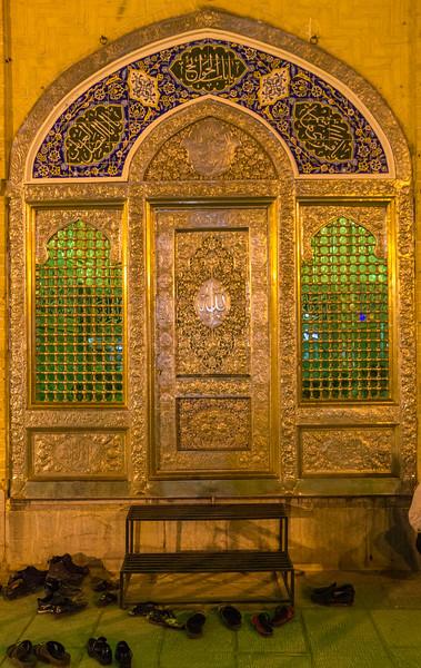 Whomen entrance Shah Vali Mosque
